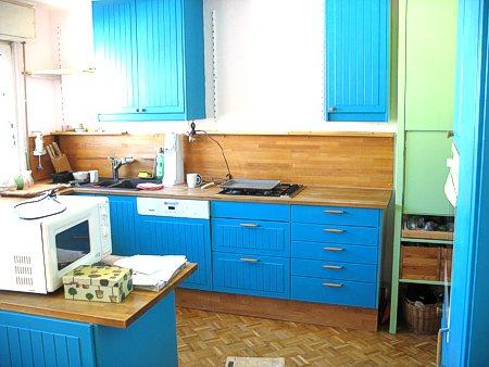kuchenmobel und einzelteile : Das T?rkis ist sehr viel dunkler und ?blauer? als auf der ...